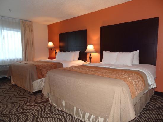 Ramada Coeur d'Alene: 2 Queen Beds