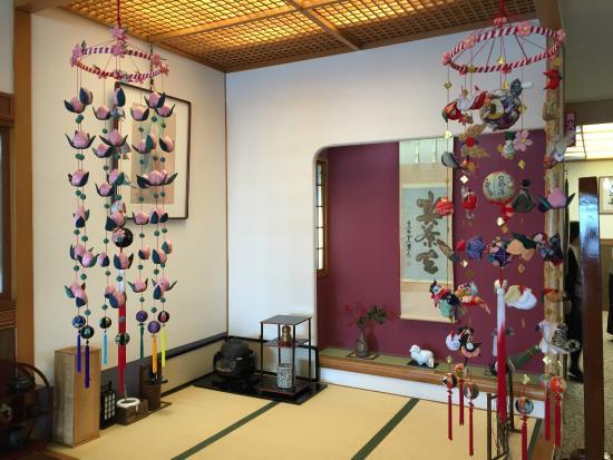 Zao Onsen Tsuruya Hotel: ロビーの一角