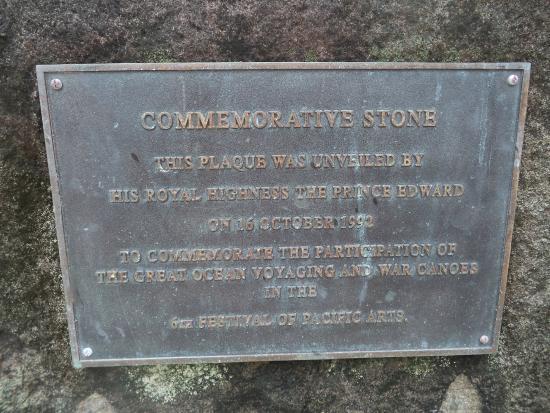 Avana Point: Prince Edward commemoration