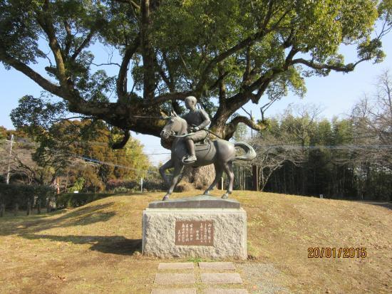 Tabaruzaka Park : 馬上豊かな美少年