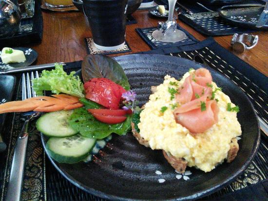 Tivoli Homestay: a sampling of the gourmet breakfast