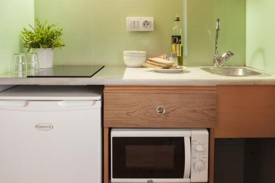 Aparthotel Senator: habitacion doble con cocina