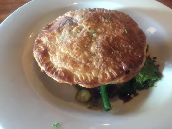 Hotel Bruny Bistro: Vegetable pie