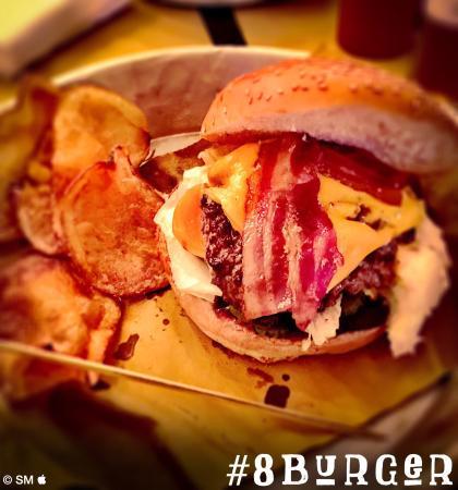 """#bacon/cheesburger """"potenziato"""""""