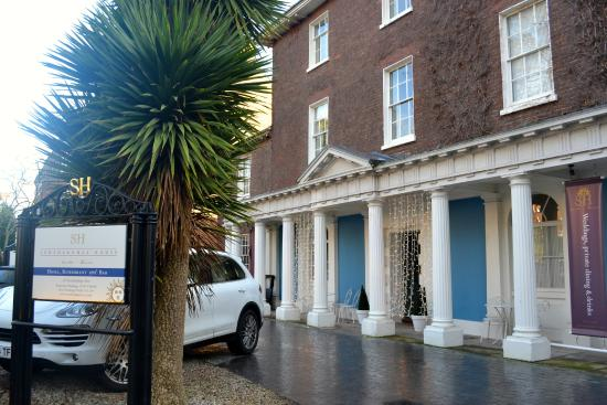 Southernhay House Hotel: Perfect location, elegant building