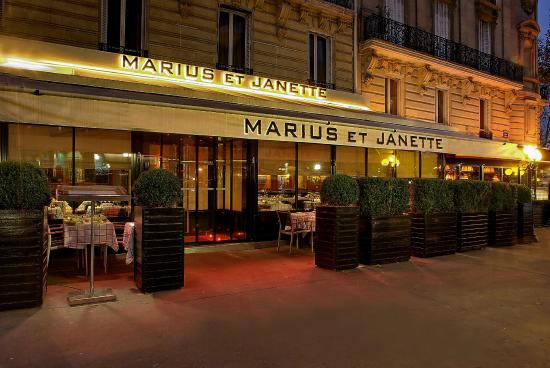 Photo of French Restaurant Marius et Janette at 4 Avenue George V, Paris 75008, France