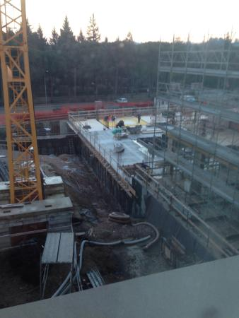 Anusca Palace Hotel Bologna: Great views if your into construction