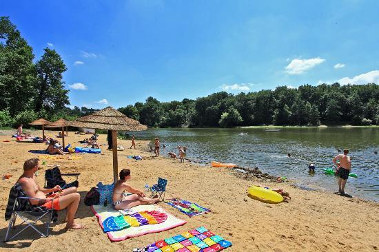 Campsites Le Parc de Fierbois: Le lac