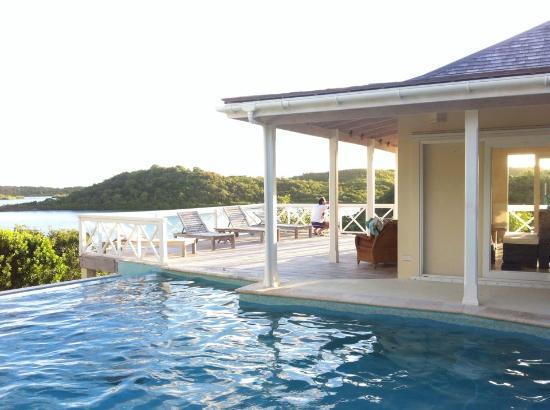 Willikies, Antigua: Piscina pomeriggio