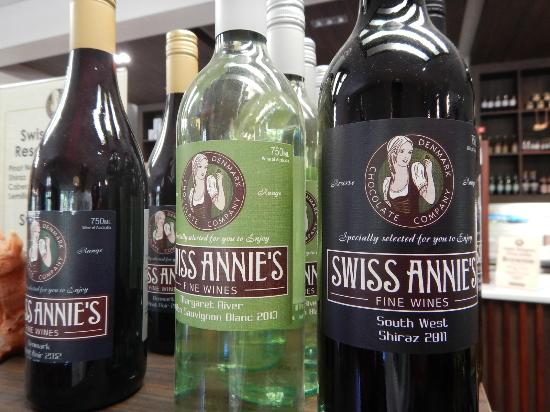 Denmark Chocolate Company: Wines