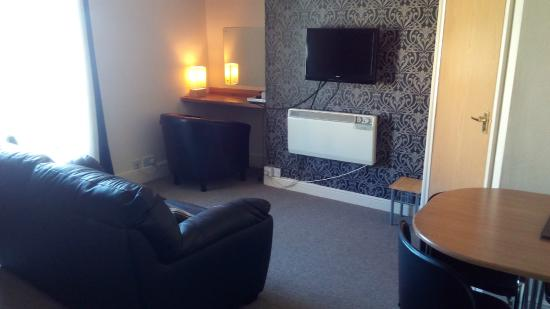 Mowbray Apartments Bridlington: Living room