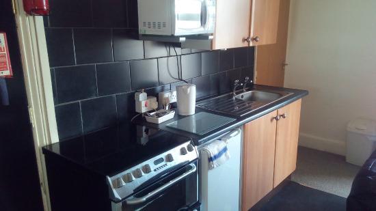 Mowbray Apartments Bridlington: kitchen area