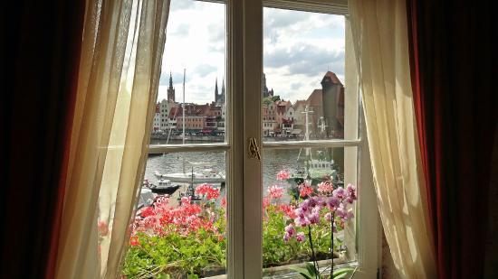 Podewils Hotel: View