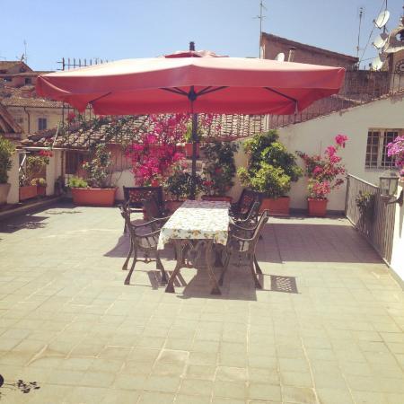 Casa di Santa Brigida: Relaxing Rooftop