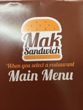 Mak sandwich