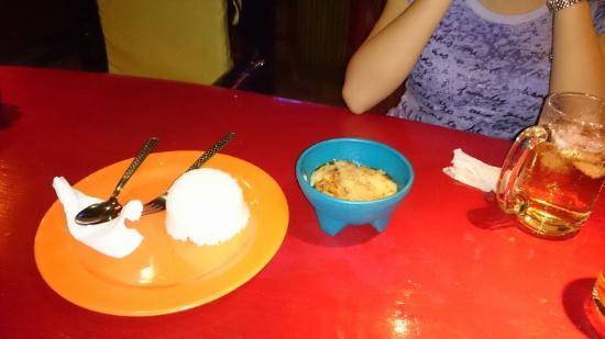 El Tiki Bar: Chilli con carne - do not blink !