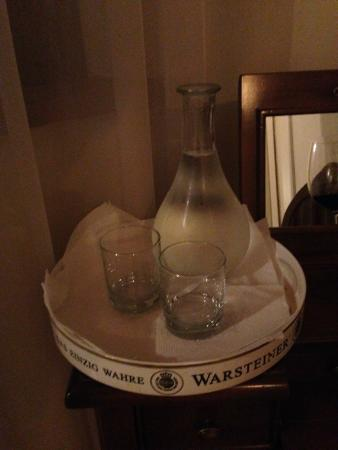 Agriturismo Ca Maggio : Nadia, ever the perfect host, sent us up with a bottle of water every night.
