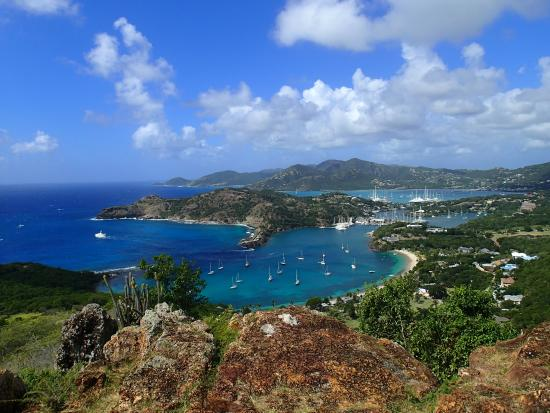 Explore Antigua with Gordan: English Harbor from Shirley Heights
