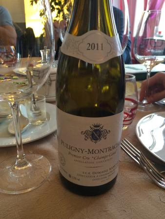 La Table de Sorgues: Puligny de jc RAMONET