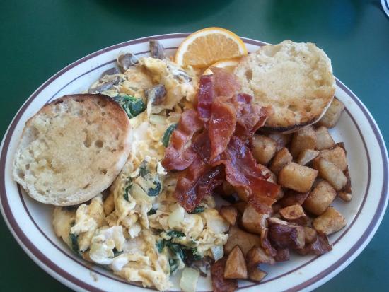 Riverside Cafe : Awesome Scramble!