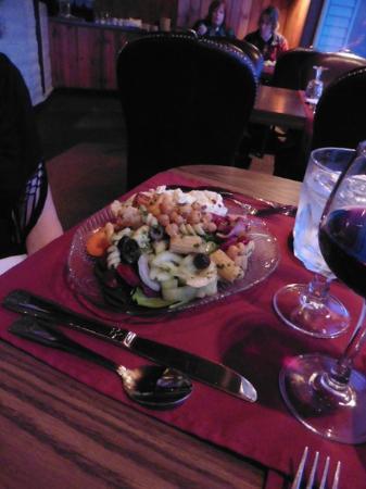 Adobe Restaurant and Lounge: Salad close-up