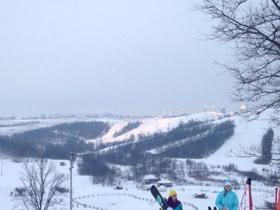 Park Yakhroma Ski Resort & Spa: вид