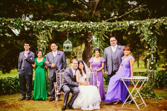 Sylvan Glen Country House: Outdoor Ceremony Location (Linda Truong Photography)