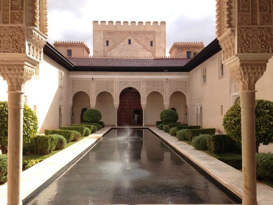Ksar Char-Bagh: Courtyard