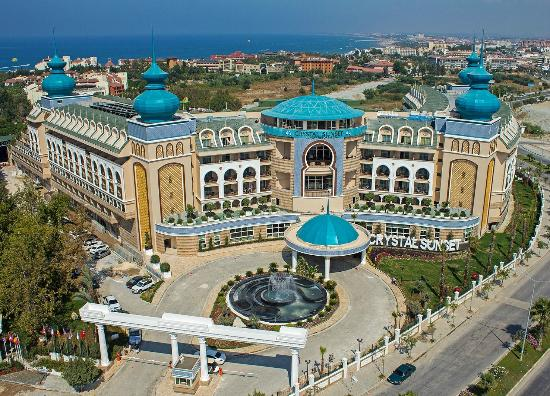 Crystal Sunset Luxury Resort & Spa (Side, Turkije) - foto's, reviews en prijsvergelijking ...