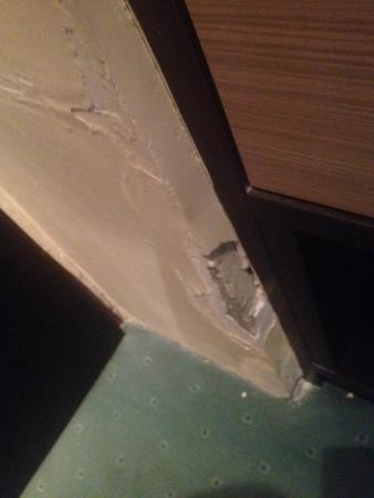 Hotel Jezero: Im Zimmer. Renovierung notwendig!