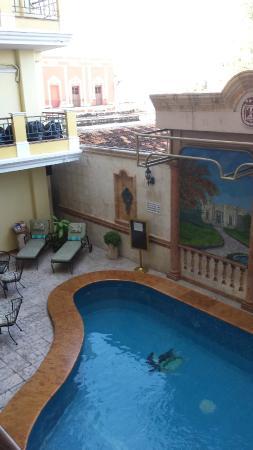 Hotel Residencial: piscina interna
