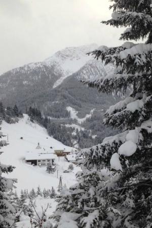 winterliche Alpenperle