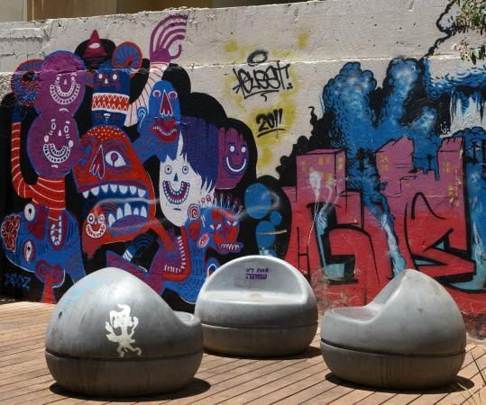 Zaatar - Israel Walking Tours : Graffiti in Tel Aviv