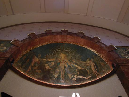 Wigmore Hall: キューポラの絵