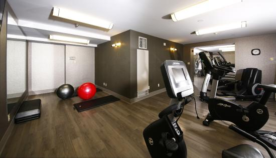 StationPark All Suite Hotel: Fitness Room located on the second floor