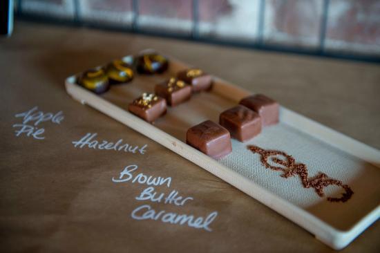 ENO Wine Bar: Chocolate Flight