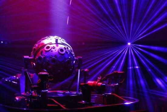 Deep Space Night (Copyright Planetarium Hamburg) - Picture ...  Deep Space Nigh...
