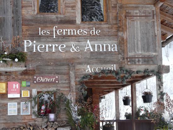 Les Fermes de Pierre & Anna: entrée
