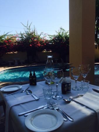 دو ليووينهوف إيستايت: Dinner @ de Leuwenhof Restaurant