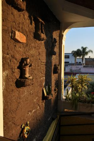 Casa Armonia: top of the stairway, so many neat things to look at