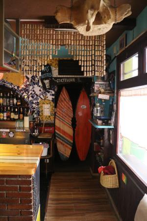 la Mar Salada Somo: decoracion mar salada