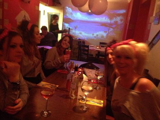 Some of my hens in sens!