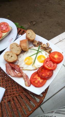 Chocolate Cafe : Desayuno inglés