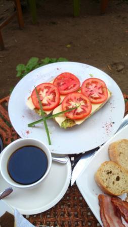 Chocolate Cafe : Pan con palta