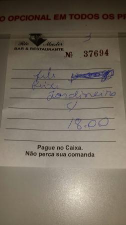 Restaurante Rio Master