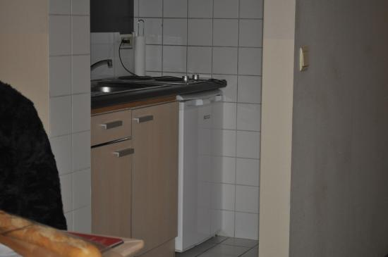 Ambassador Suites Antwerp: Keuken