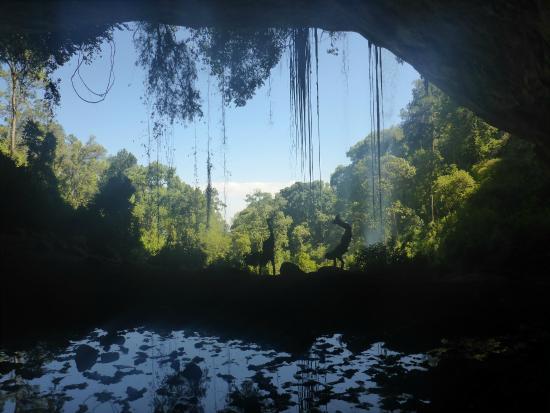 Mount Elgon National Park: Cave in Mt Elgon National park
