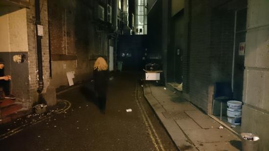 Marisa Hotel : Back Alley