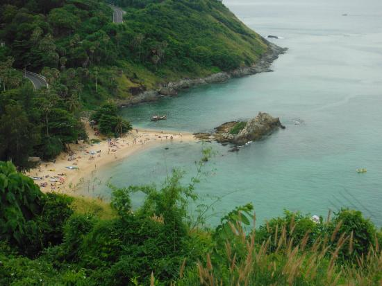 Ya Nui Beach : Ao Nui - view from the top