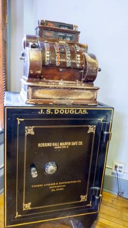 Bisbee Mining & Historical Museum: Douglas' safe